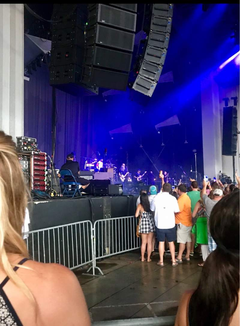 Seating view for PNC Music Pavilion Section 3 Row J Seat 24