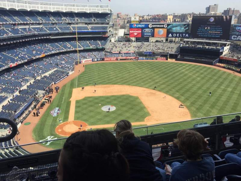 Seating view for Yankee Stadium Section 417 Row 4 Seat 19