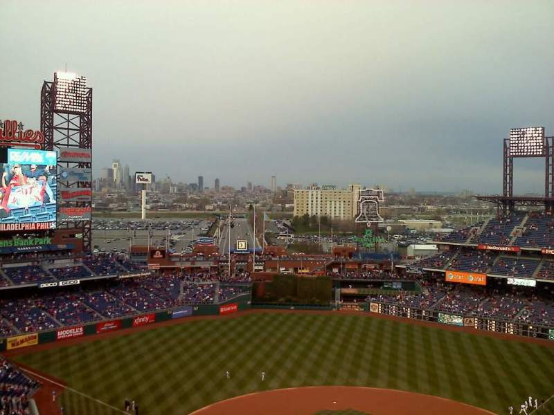 Seating view for Citizens Bank Park Section 422