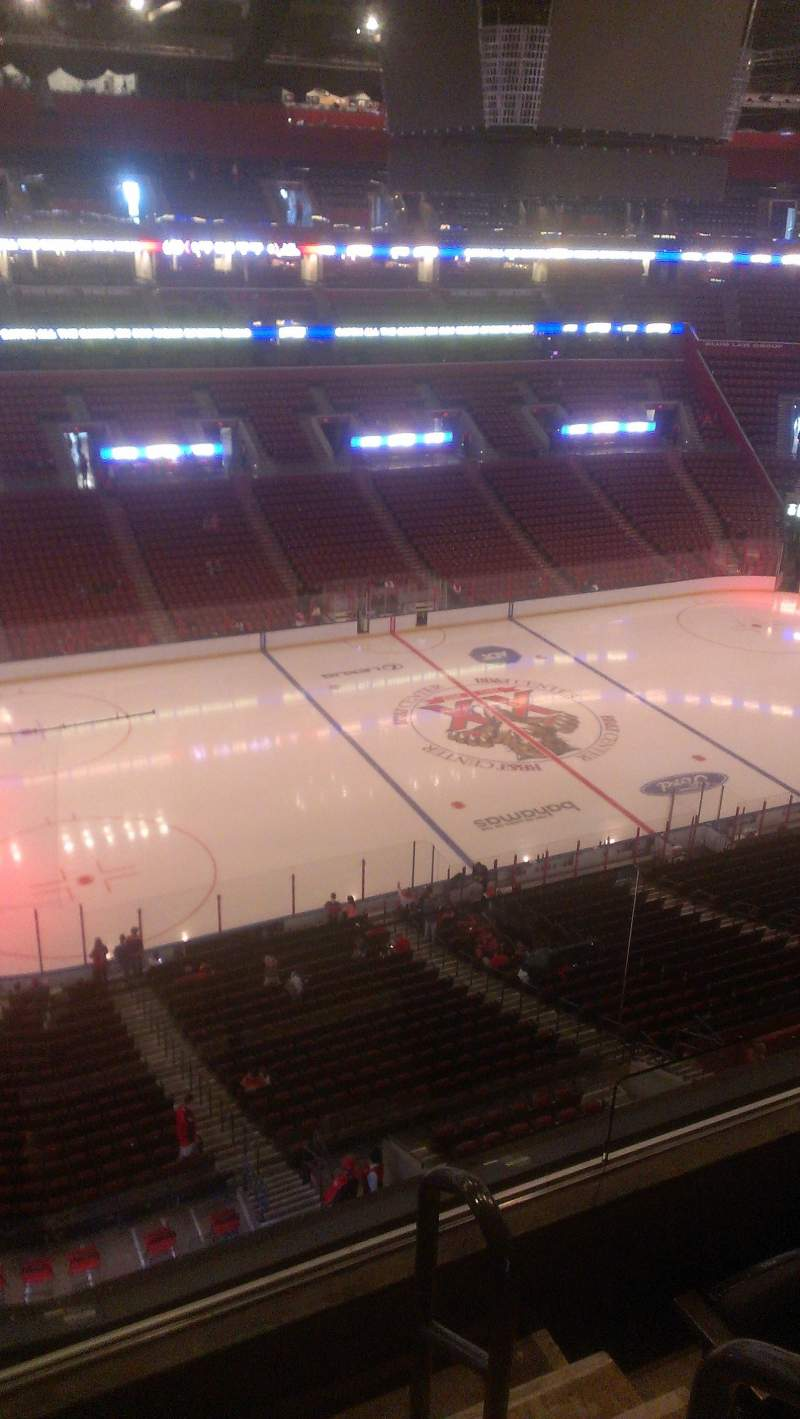 Seating view for BB&T Center Section 404 Row 2 Seat 2