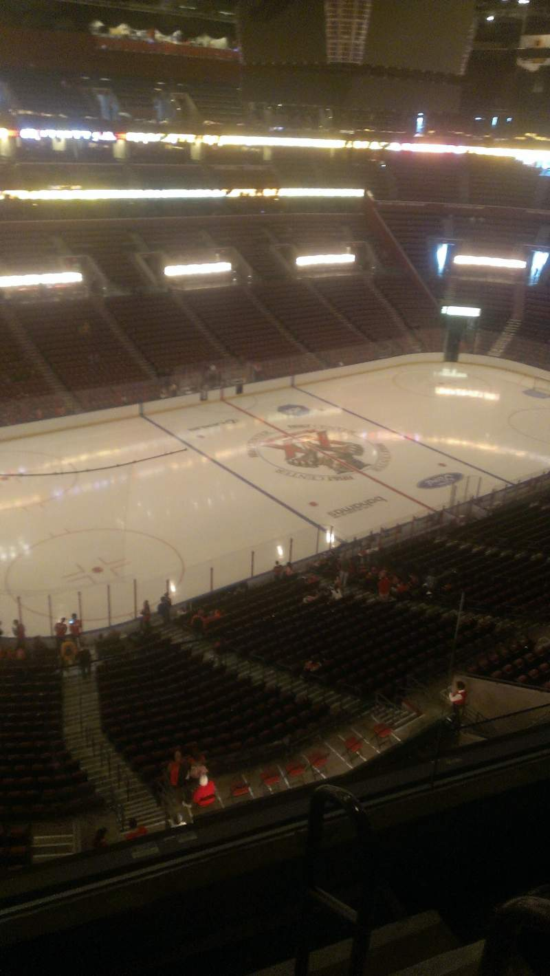 Seating view for BB&T Center Section 405 Row 2 Seat 2