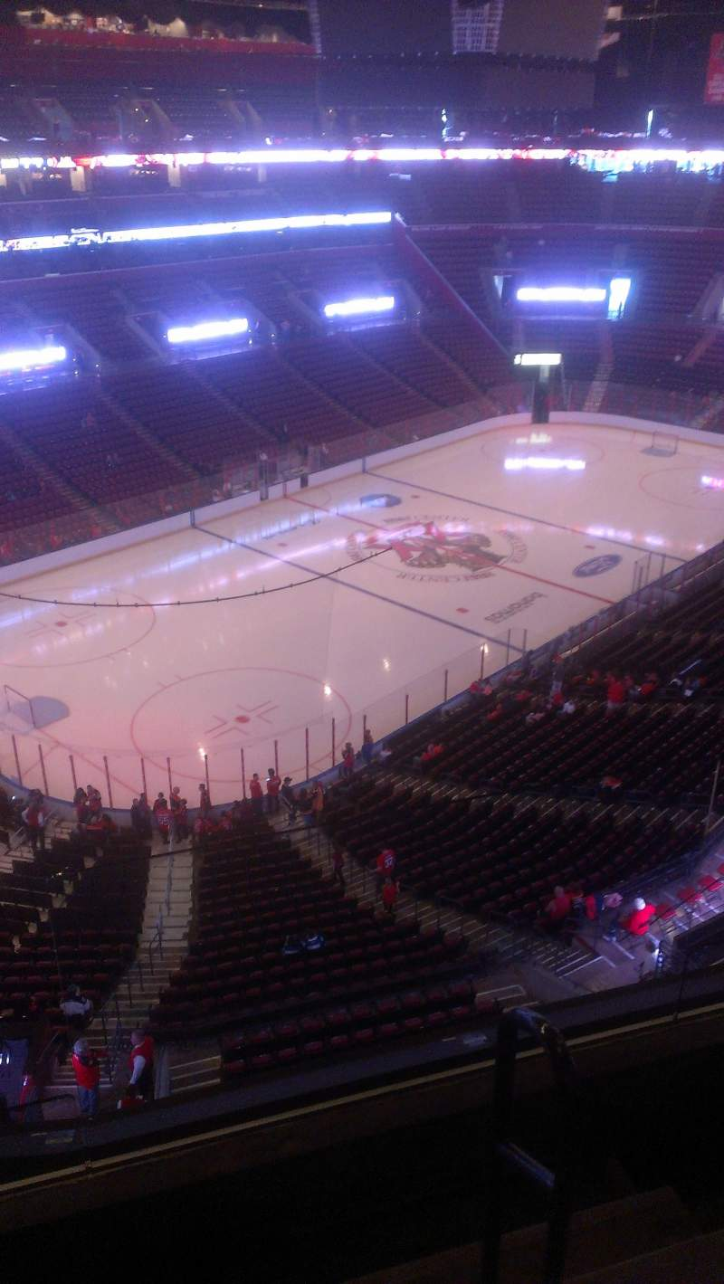 Seating view for BB&T Center Section 406 Row 2 Seat 2