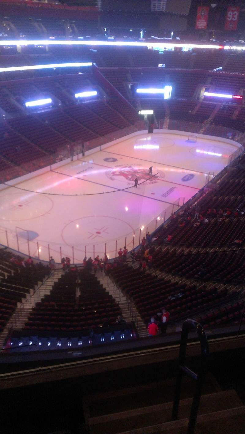 Seating view for BB&T Center Section 407 Row 2 Seat 2