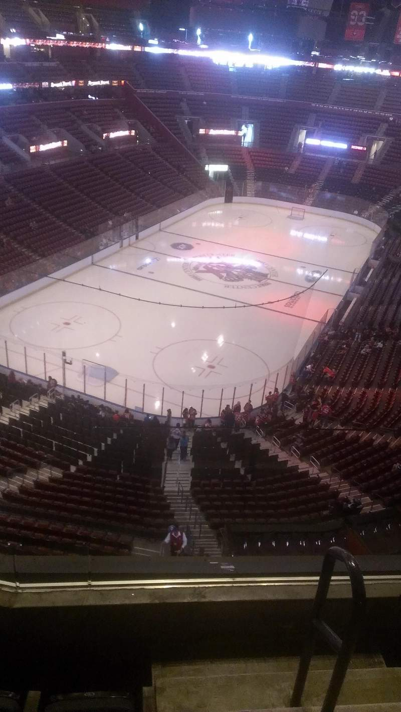 Seating view for BB&T Center Section 408 Row 2 Seat 2