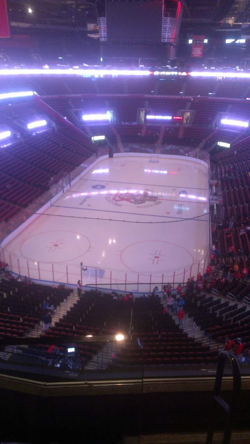 Seating view for BB&T Center Section 409 Row 2 Seat 2
