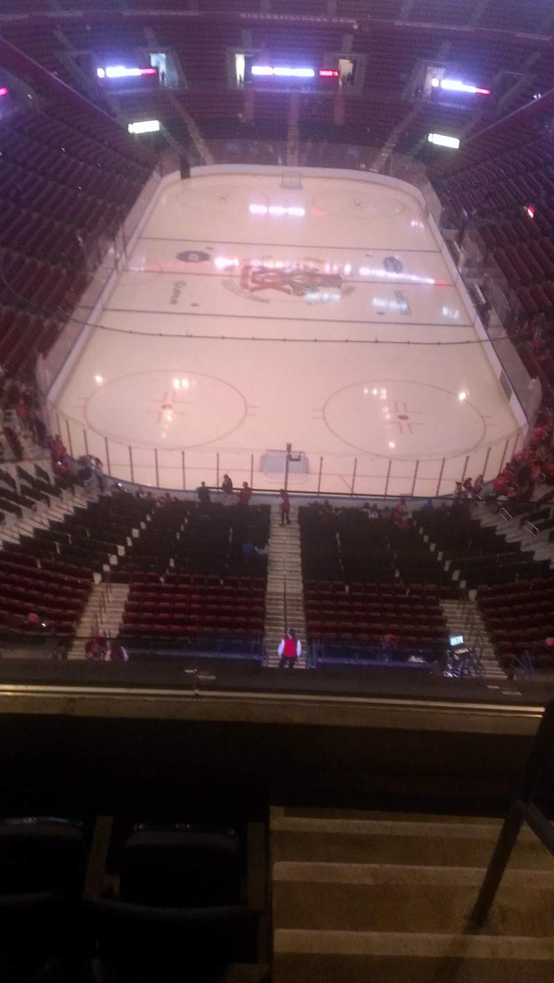 Seating view for BB&T Center Section 410 Row 2 Seat 2