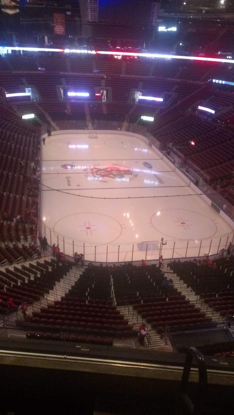 Seating view for BB&T Center Section 411 Row 2 Seat 2