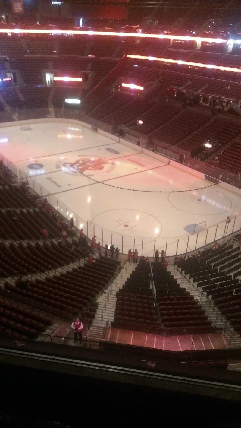 Seating view for BB&T Center Section 413 Row 2 Seat 2