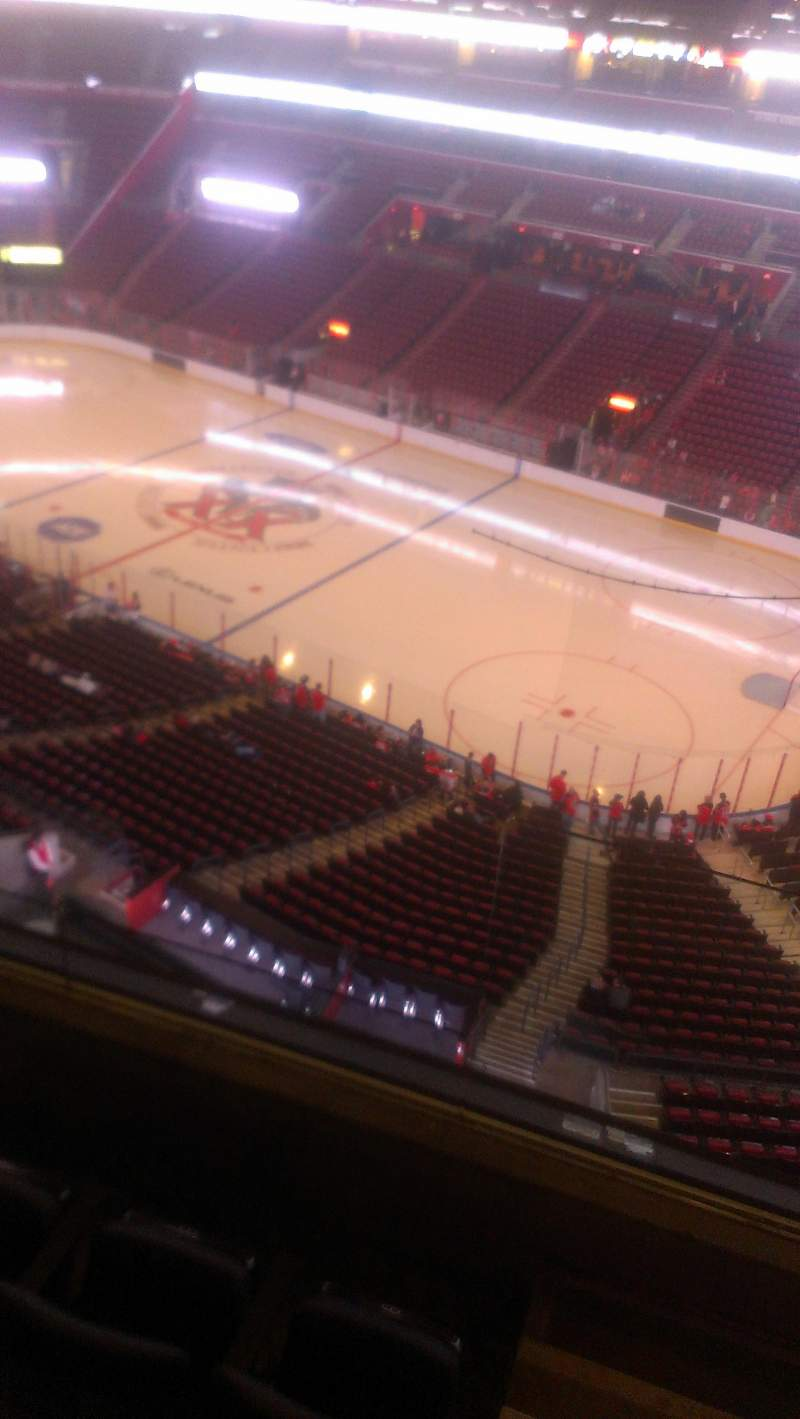 Seating view for BB&T Center Section 415 Row 2 Seat 2