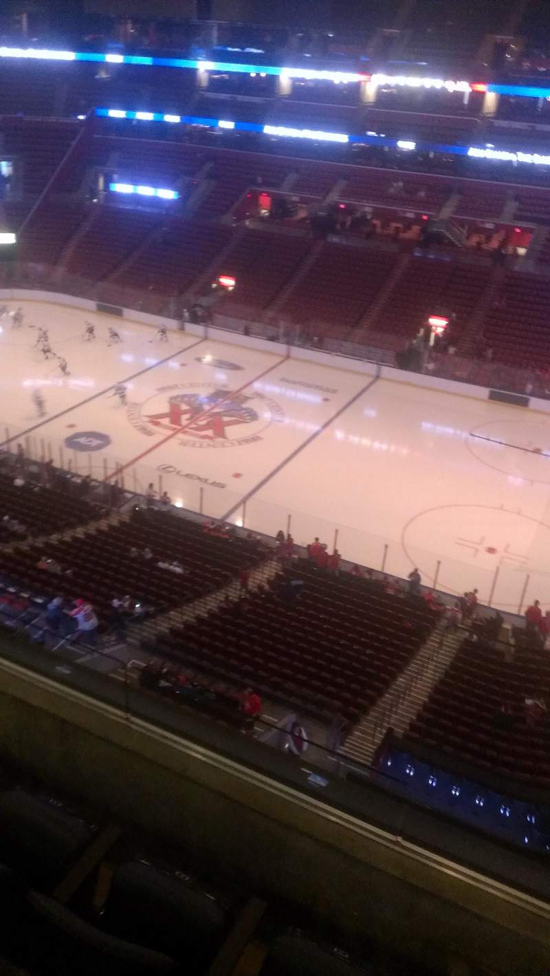 Seating view for BB&T Center Section 316 Row 2 Seat 2