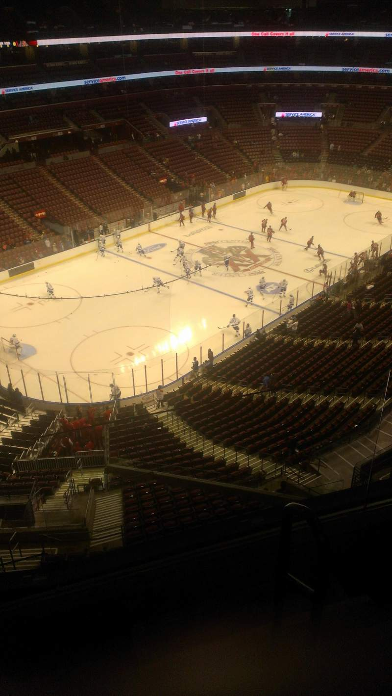 Seating view for BB&T Center Section 423 Row 2 Seat 2