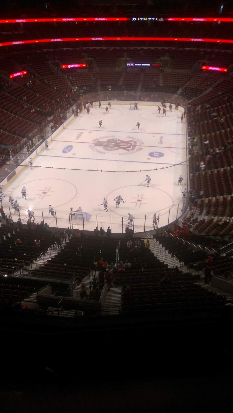 Seating view for BB&T Center Section 426 Row 2 Seat 2