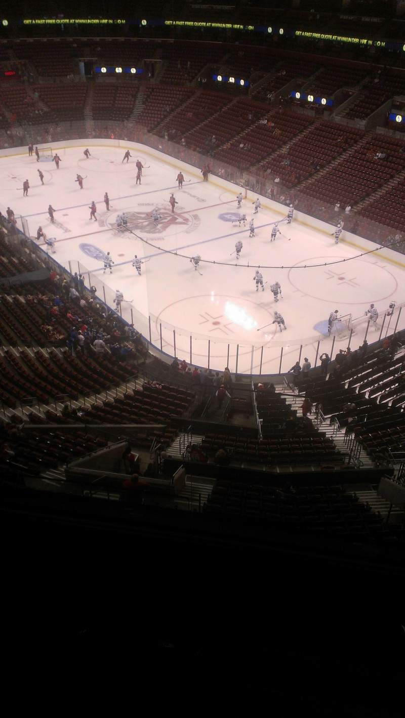 Seating view for BB&T Center Section 430 Row 2 Seat 2