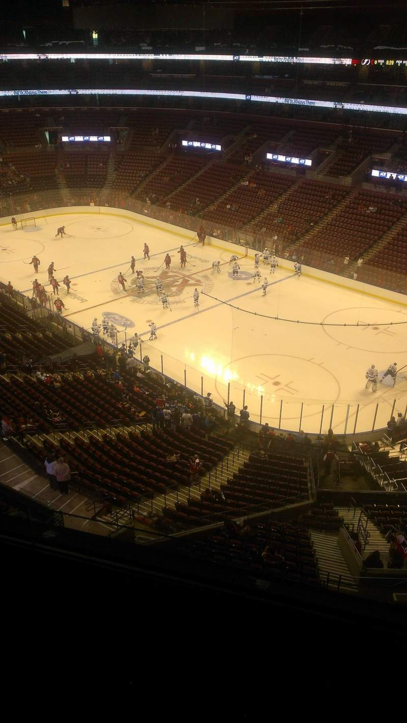 Seating view for BB&T Center Section 431 Row 2 Seat 2