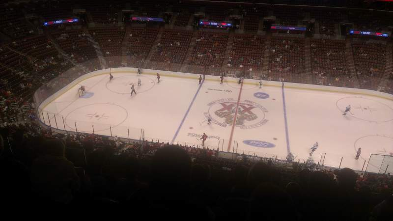 Seating view for BB&T Center Section 401 Row 7 Seat 6