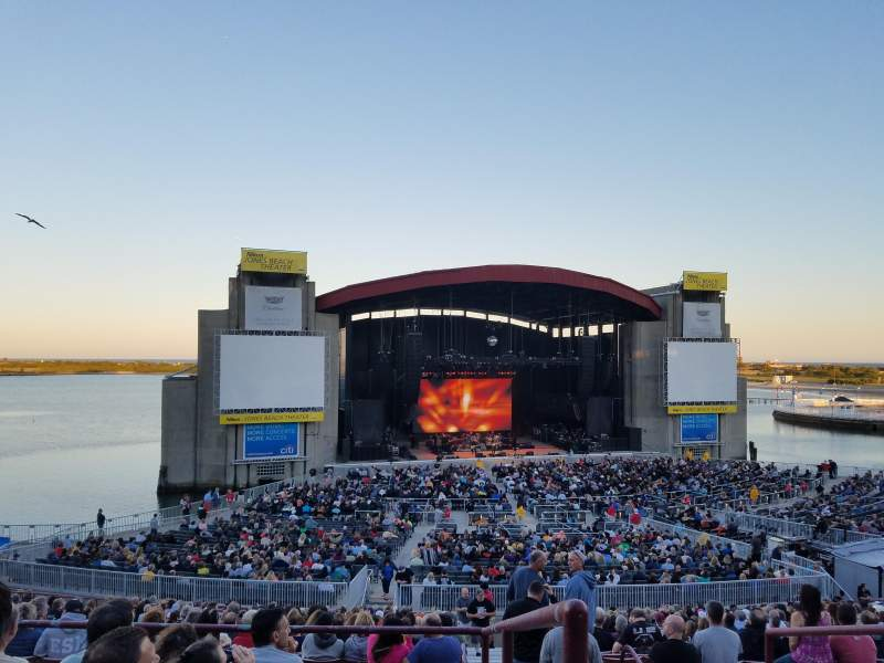 Seating view for Jones Beach Theater Section 12R Row FF Seat 1