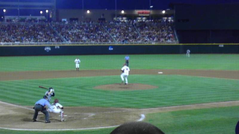 Seating view for TD Ameritrade Park Section 111 Row 17 Seat 7