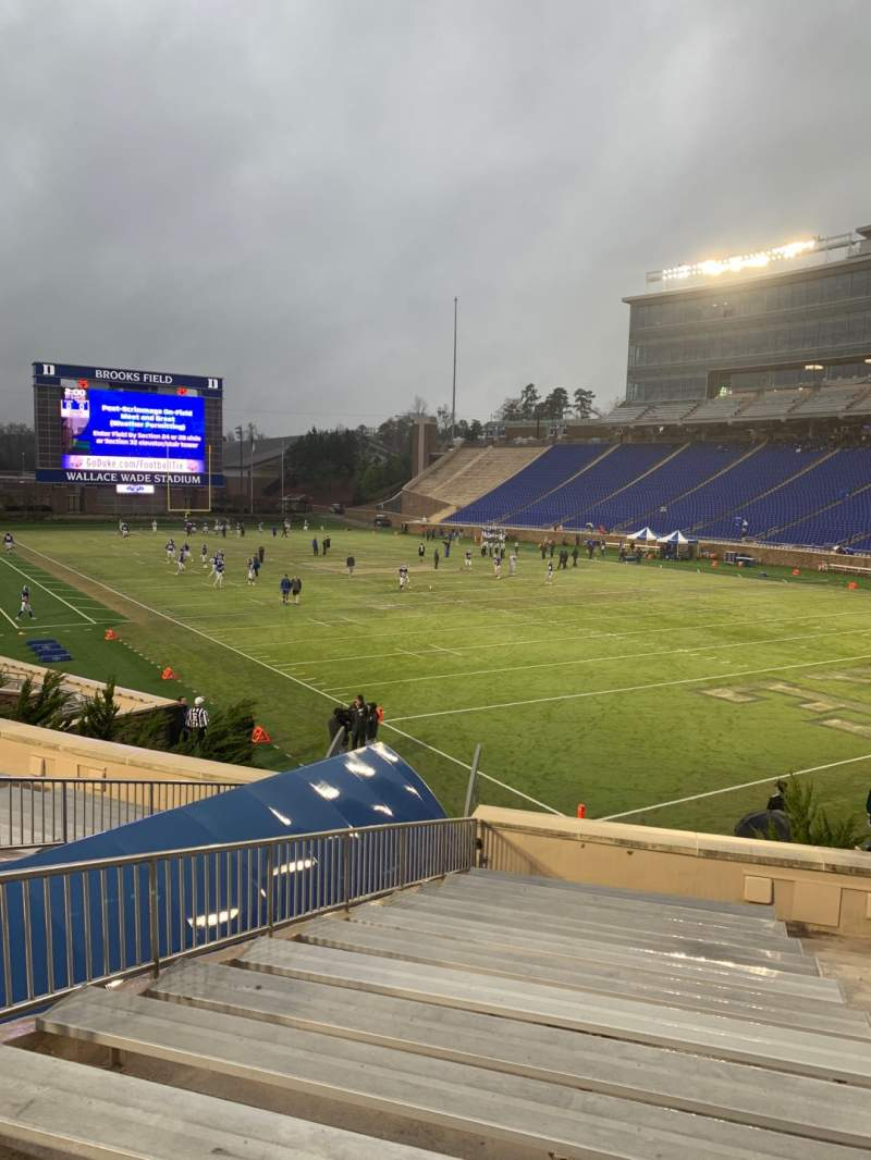 Seating view for Wallace Wade Stadium Section 13 Row N Seat 5