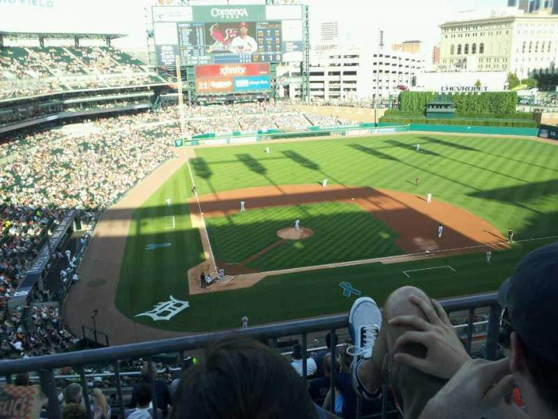 Seating view for Comerica Park Section 324 Row 2 Seat 11