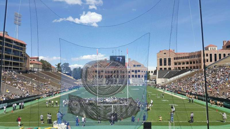 Seating view for Folsom Field Section 112 Row 31 Seat 1