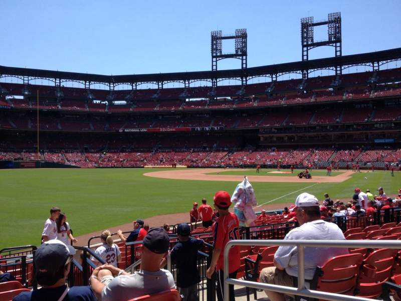 Seating view for Busch Stadium Section 167 Row 7 Seat 4