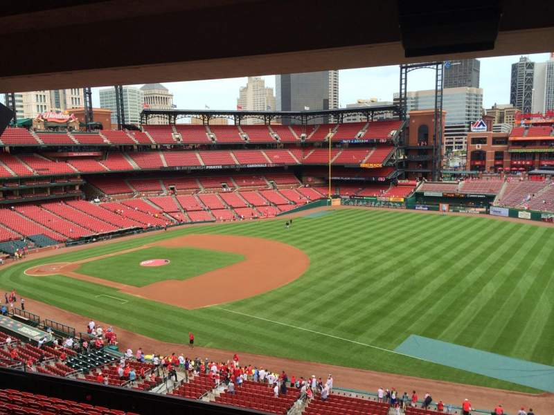 Seating view for Busch Stadium Section 318 Row B Seat 8
