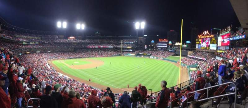 Seating view for Busch Stadium Section 233 Row 7 Seat 4