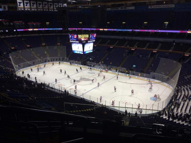 Seating view for Scottrade Center Section 316 Row K Seat 21