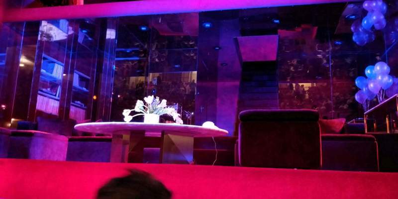 Seating view for Booth Theatre Section Orchestra C Row BB Seat 109