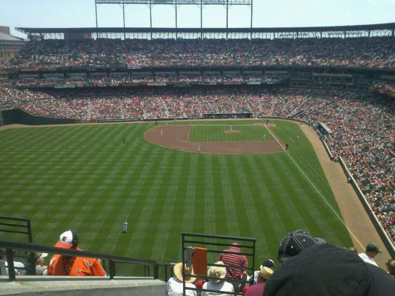 Oriole Park At Camden Yards Section 382 Home Of