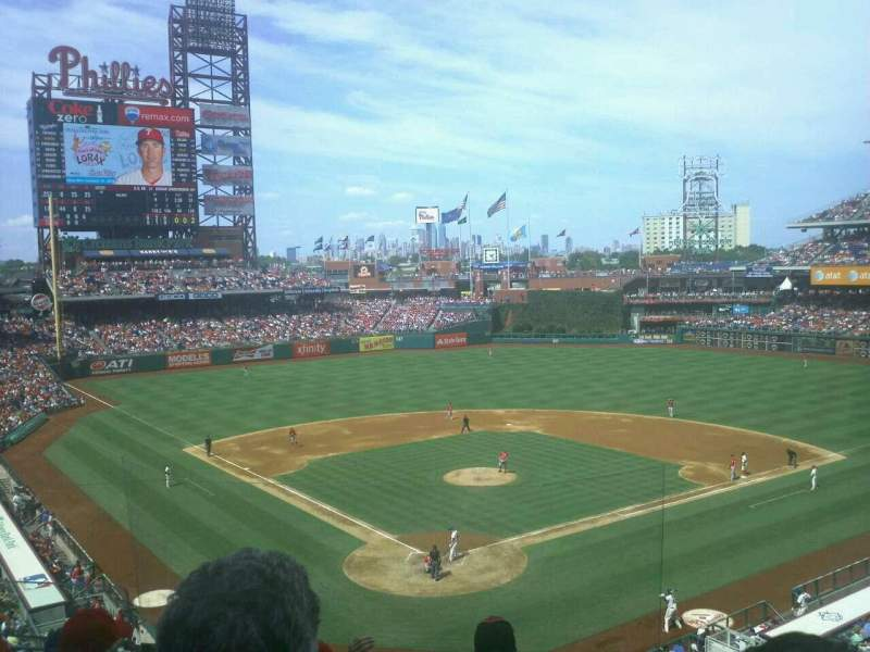 Seating view for Citizens Bank Park Section 221 Row 5 Seat 6
