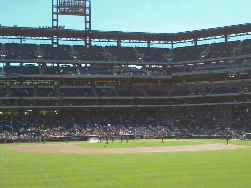 Seating view for Citizens Bank Park Section 144 Row 3 Seat 16