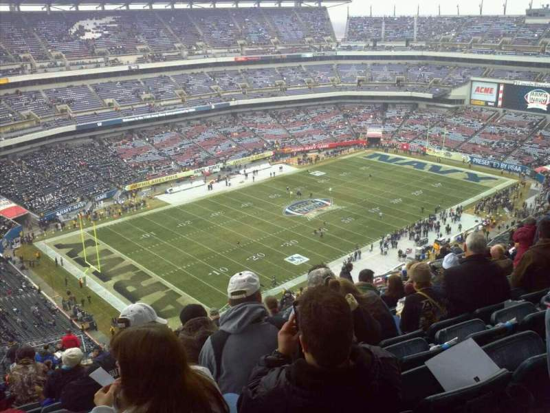 Seating view for Lincoln Financial Field Section 239 Row 29 Seat 13