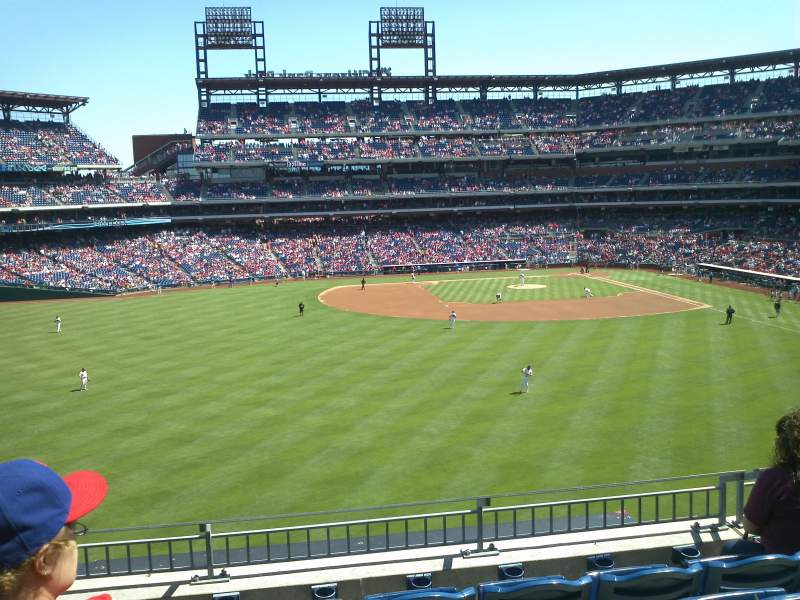 Seating view for Citizens Bank Park Section 244 Row 5 Seat 16
