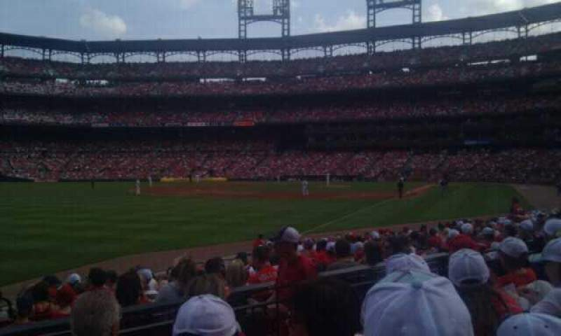 Seating view for Busch Stadium Section 166 Row 4 Seat 12