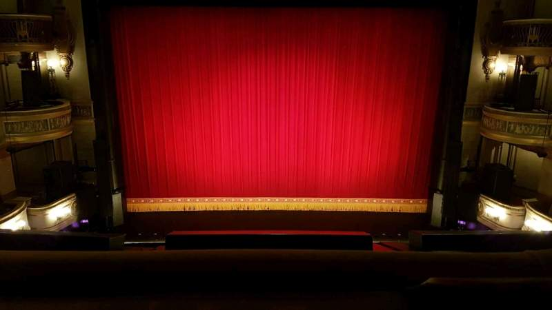 Seating view for Theatre Royal Drury Lane Section Grand Circle Row A Seat 25