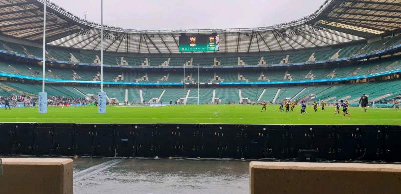 Seating view for Twickenham Stadium Section L14 Row 2 Seat 103