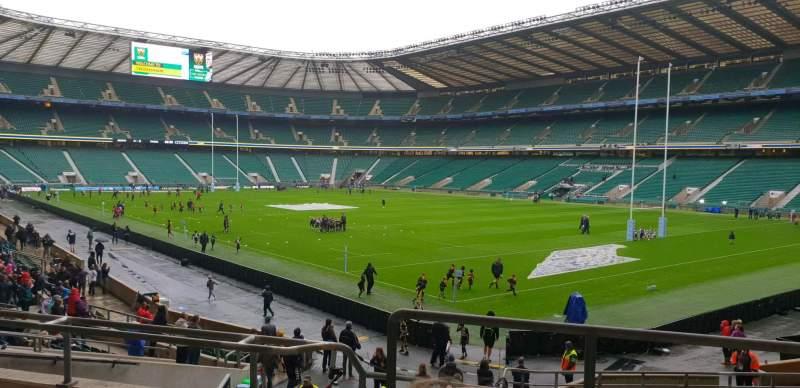 Seating view for Twickenham Stadium Section L19 Row 26 Seat 6