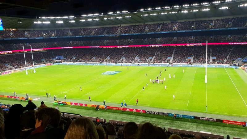 Seating view for Twickenham Stadium Section M3 Row 70 Seat 67
