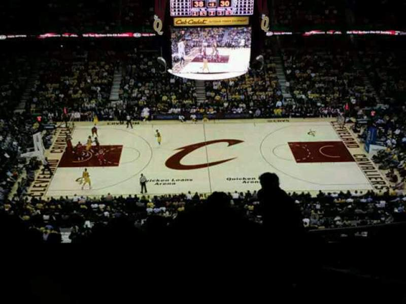Seating view for Quicken Loans Arena
