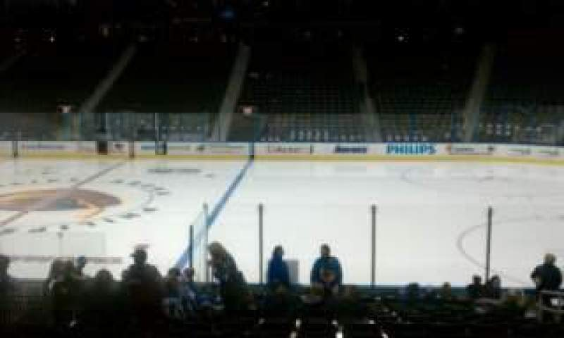 Philips Arena, section: 114, row: R, seat: 7
