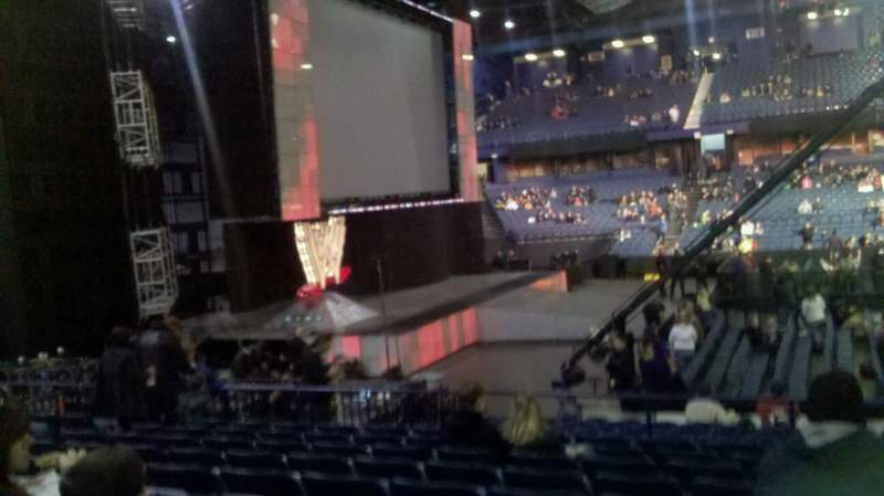 Seating view for Allstate Arena Section 103 Row K Seat 14