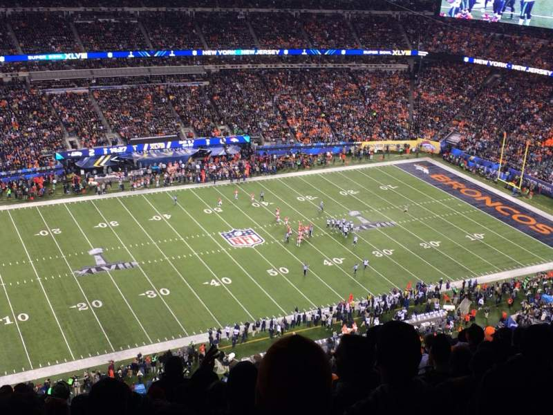 Seating view for MetLife Stadium Section 342 Row 26 Seat 4