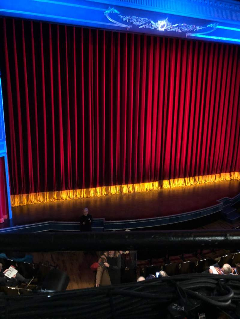 Seating view for Studio 54 Section Front Mezzanine Row AA Seat 122