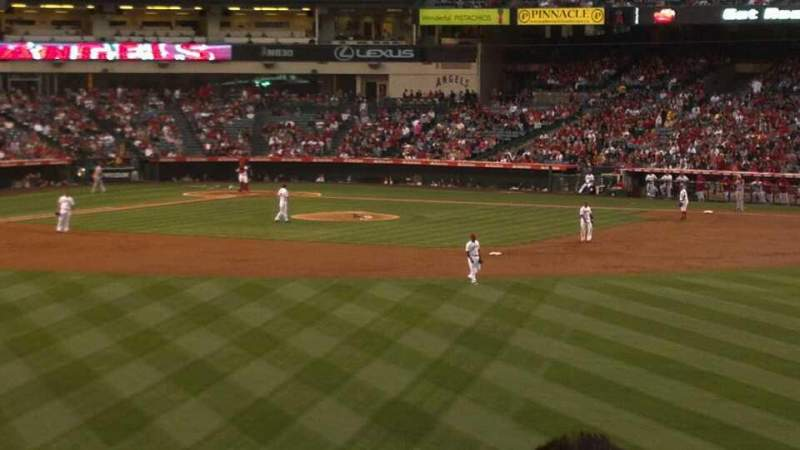 Seating view for Angel Stadium Section P239 Row N Seat 15