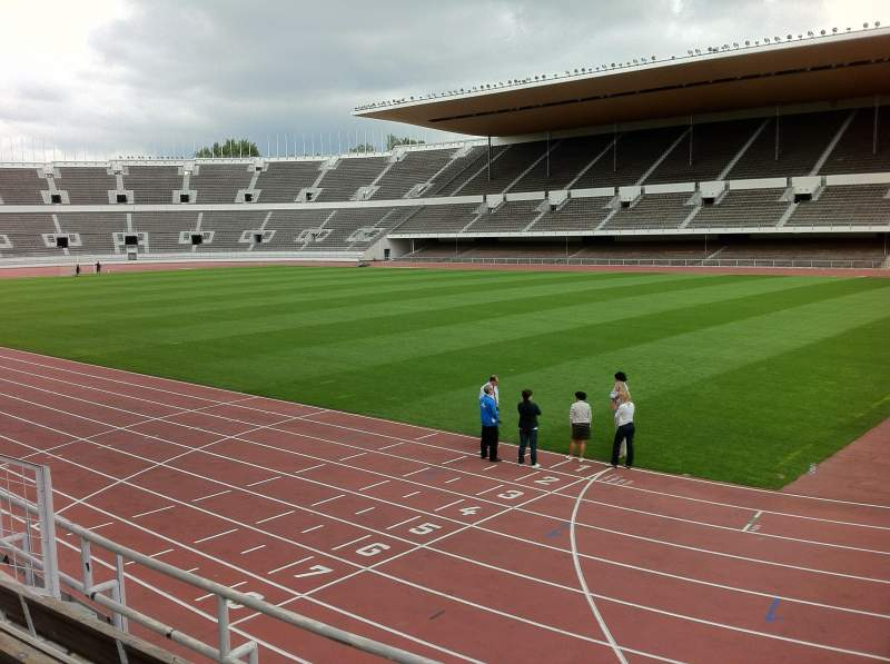 Seating view for Olympic Stadium, Helsinki Section B13 Row 7 Seat 137