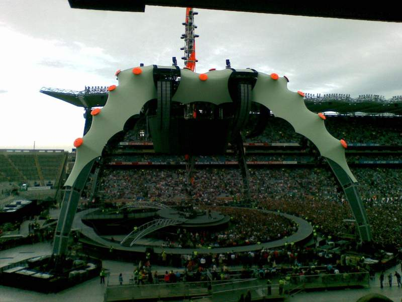 Seating view for Croke Park Section MID536 Row H Seat 2