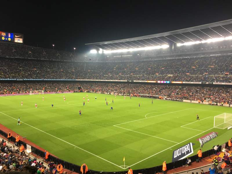 Seating view for Camp Nou Section 238 Row 3 Seat 12