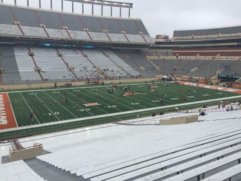 Seating view for Texas Memorial Stadium Section 31 Row 51 Seat 25