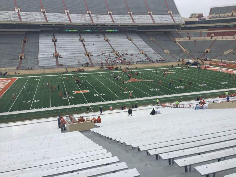 Seating view for Texas Memorial Stadium Section 30 Row 51 Seat 25